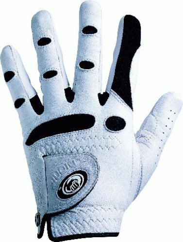 Golf-Handschuhe BIONIC® Classic Herren LH weiss-schwarz, Größe ML -