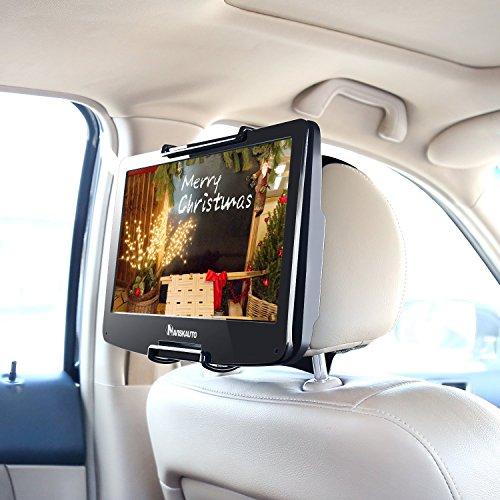 Preisvergleich Produktbild NAVISKAUTO 10-12,5 Zoll Auto KFZ Kopfstützenhalterung Kopfstütze Halterung Gehäuse für Tragbarer DVD Player Spieler Kopfstützenmonitor Monitor HM004