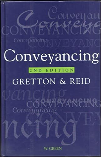 Book Conveyancing (Greens Concise Scots Law)