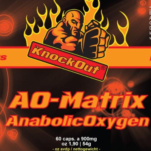 Energy Testo Booster USA by Knock Out Nutrition - Anabolic Oxygen-Matrix - 60 Kapseln