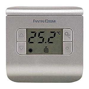 Fantini Cosmi CH112 Termostato Ambiente a Batterie, 3 temperature, Anthracite 51mpvp1UJUL. SS300