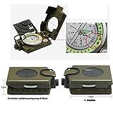 Hibote Huntington Kompass Camo Militär Marschkompass Premium Qualität und Metallgehäuse