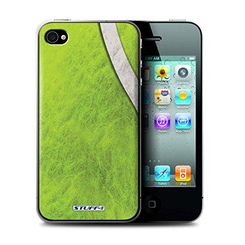 Gedruckt Schutzkoffer Schutzhüllen / Hülle für Apple iPhone 4/4S / Basketball Muster / Sport Bälle/Ball Kollektion Tennis