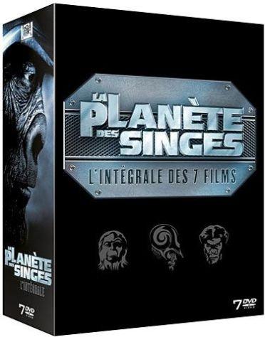 La Planète des Singes - Intégrale 7 DVD (dont La Planète des singes : Les Origines)
