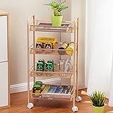 Racks/IKEA Badezimmer Rack/Racks/Riemenscheibe Bad vierstufige Küchenregal/Boden bis zur Decke Lagerregal-B