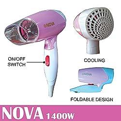 Nova Branded Professional Hair Dryer - 1400Watts