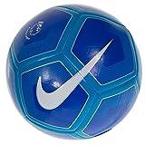 Nike Pitch Premier League Ballon de football 2016/2017/2018 (Jaune / Cramoisi 2017/2018, 4)