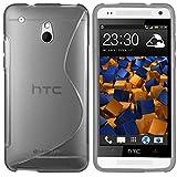 mumbi S-TPU Schutzhülle HTC One mini Hülle transparent