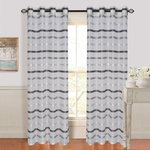 lavish-home-arla-grommet-single-curtain-panel-95-inch-lite-dark-grey-by-lavish-home