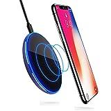 Caricatore Wireless, ikalula Wireless Charging Caricatore Senza Fili Qi Charging per Telefoni abilitati iPhone 8/8Plus/X/, Samsung Note 8/S8/S8 Plus