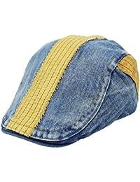 TYGRR La Sombrerería Días De Primavera Y Otoño La Boina Tendencia Casquillo  del Ocio Sombrero hacia 92a845ea30a