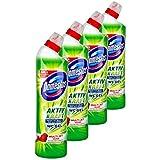 Domestos actif Force WC Gel lime Fresh Lot de. (4x 750ml)