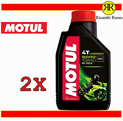 Olio motore moto Motul 5000 10w40 4T litri 2