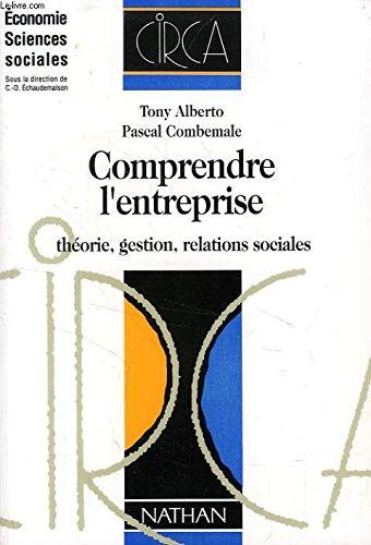 COMPRENDRE L'ENTREPRISE. Théorie, gestion, relations sociales