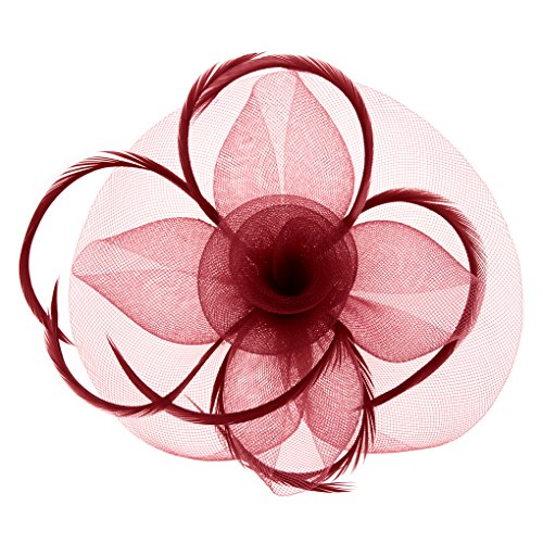 raut Patei Kopfschmuck, Garn Braut Haarschmuck, Hochzeit Haar Clip Hut Stirnband, Haarclip Hairpin Haarband für Party Kirche Hochzeit ()
