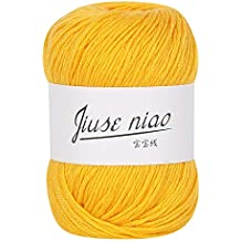 26 colores 50 g de hilo tejido de algodón lechoso Diadia, nuevo algodón de bambú