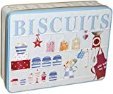 Grandma Wild's Kitchen Dresser Embossed Biscuit Tin with Assorted Biscuits 400 g