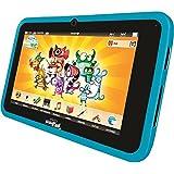 Videojet 5071 - KidsPad 4 bleue (tablette tactile pour enfant + protection en silicone)