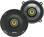 مكبر صوت سيارة CSC5 من KICKER CS Series CSC5 مقاس 5.25 بوصة مع مكبر صوت ، أصفر (2 حزمة)