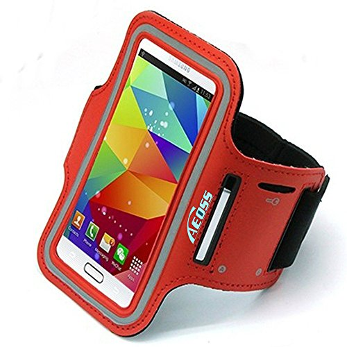 Aeoss Sports Armband case Holder for All 5 inch Mobile Phone