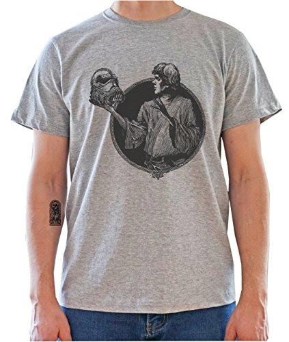 Star Wars HAMLET Mock Up - To Be Or Not To Be Mens T-Shirt Gris