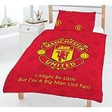 Manchester United FC Junior / Cot Bed Duvet Cover & Pillowcase