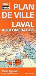 Plan de Laval et de son agglomération