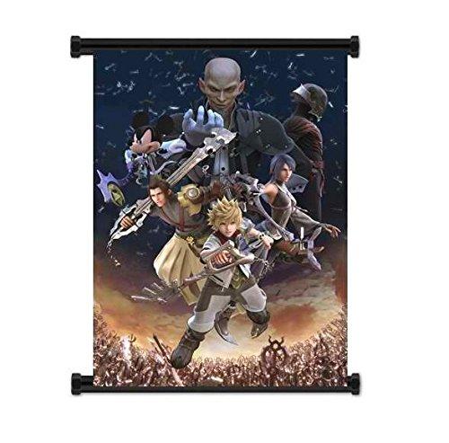Wallscrolls-Wonderland Großes Kingdom Hearts Wallscroll Poster 60x90CM