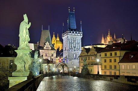Jochen Schweizer Geschenkgutschein: Romantik-Wochenende in Prag für 2