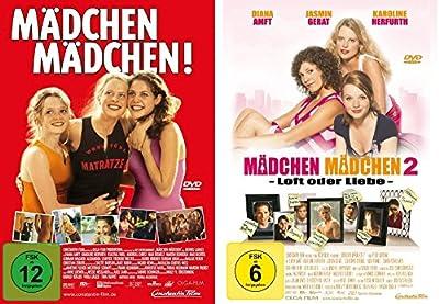 Mädchen Mädchen! (1) + Mädchen Mädchen - Loft oder Liebe (2) im Set - Deutsche Originalware [2 DVDs]