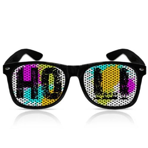 Partybrillen beklebte Sonnenbrillen Pilotenbrillen Promotionbrillen Atzenbrille Festivalaccessoire...