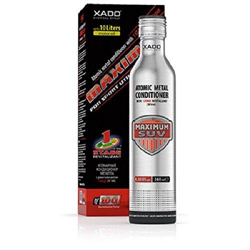 XADO Motoren-Öl Additiv - Schutz für Motor - Zusatz zur Reparatur und gegen den Verschleiß, atomarer Metallconditioner mit Revitalizant® 1 Stage (über 5L Ölvolumen)
