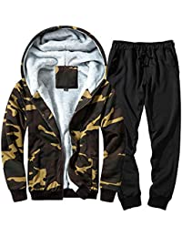 aa24b40caec Men's Autumn Winter Patchwork Sweatshirt Top Pants Sets Sports Suit Tracksuit  Men Clothing Styles Man Fashion