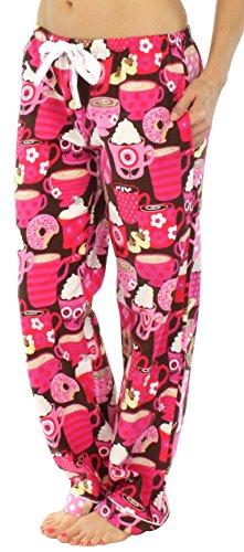 PajamaMania -  Pantaloni  - Donna Cioccolata calda
