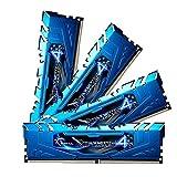 Skill Ripjaws G 4 F4-3400C16Q-16GRBD 16 GB (4 x 4 GB) DDR4-3400 módulo de Memoria MHz Non-ECC Heatspreader con - de Color Azul