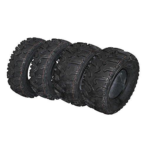 Reifen Set 2 x 25x10-12 und 2 x 25x8-12 schlauchlos TL Typ 711 Quad Buggy ATV neu