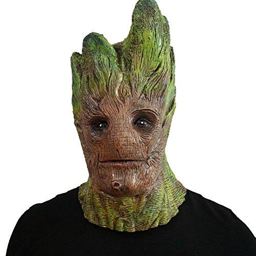 Mann Für Kostüm Erwachsene Baum - thematys Groot Maske aus dem Filmklassiker - perfekt für Fasching, Karneval & Halloween - Kostüm für Erwachsene - Latex, Unisex Einheitsgröße