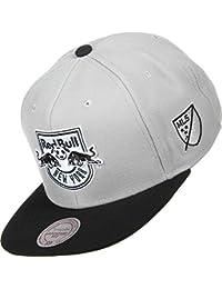 Mitchell & Ness B&W New York Red Bulls Snapback Cap
