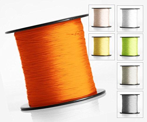 Schnur für Plissee, Rollo, Jalousette 0,8 mm Spannschnur Plisseeschnur zubehör (Creme, 30 meter)