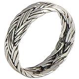 Bishilin Ring 925 Silber Herren Infinity Kreuz Partnerring Männer Ring Gr.49 (15.6)