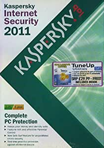 Kaspersky Internet Security 2011 1 PC 1 Year + FREE TuneUp Utilities