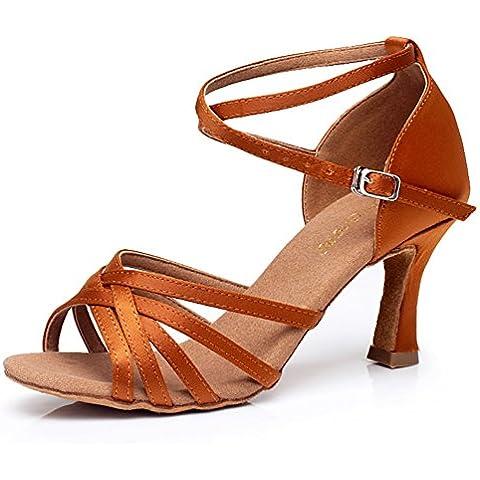 zapatos latinos femeninos de tacón alto de fondo blando/zapatos de baile para adultos de sexo