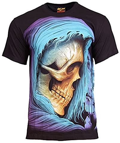 Blue Skull 3D T-shirt