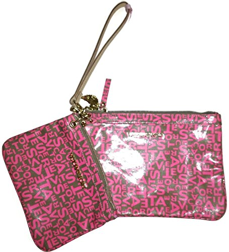 Victoria 's Secret Supermodel Kosmetik-Tasche 2-teiliges Geschenk-Set: Pink Logo - Secret Logo Set Victorias