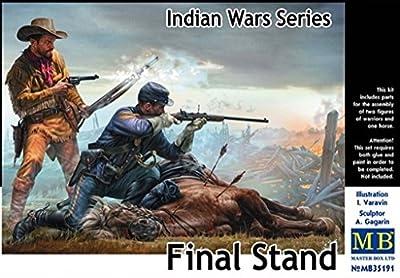 Master Box Ltd MB35191 Figur Final Stand, Indian Wars Series von Master Box Ltd.