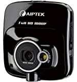 Aiptek Car Camcorder X-mini Auto- Kamera / Black Box / Dash Cam (5 Megapixel, 6 cm (2,4 Zoll) Display, Full HD, SD/SDHC-Kartenslot, Weitwinkelobjektiv) schwarz