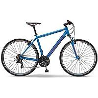 "Winora Crossrad Herren Fahrrad Senegal 28"" blau/rot matt 2015"