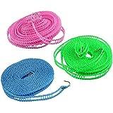 Nylon Clothesline Rope (Multicolour, 5m)