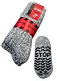 Antirutsch Socken ABS Socken Noppensocken Stoppersocken Damen Herren 2 Paar