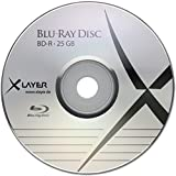 XLayer BD-R Rohlinge (4x Speed, 25GB, 25er Pack)
